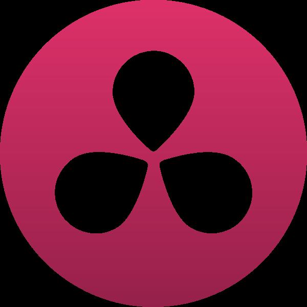 DaVinci Resolve 12 ,Logo , icon , SVG DaVinci Resolve 12