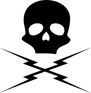 Death proof skull Logo ,Logo , icon , SVG Death proof skull Logo