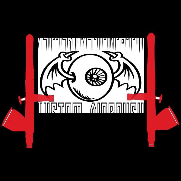 Deiwert Designs Kustom Airbrush Logo ,Logo , icon , SVG Deiwert Designs Kustom Airbrush Logo