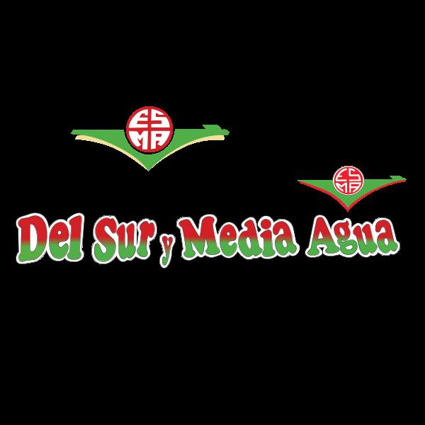 del sur y media agua Logo ,Logo , icon , SVG del sur y media agua Logo