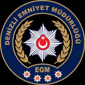 Denizli Emniyet Müdürlüğü Logo ,Logo , icon , SVG Denizli Emniyet Müdürlüğü Logo