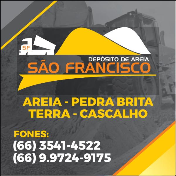 Depósito de Areia São Francisco – Colíder/MT Logo ,Logo , icon , SVG Depósito de Areia São Francisco – Colíder/MT Logo