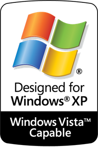 Designed for Windows XP – Vista Capable Logo ,Logo , icon , SVG Designed for Windows XP – Vista Capable Logo