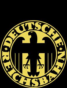 Deutsche Reichsbahn Gesellschaft Logo ,Logo , icon , SVG Deutsche Reichsbahn Gesellschaft Logo