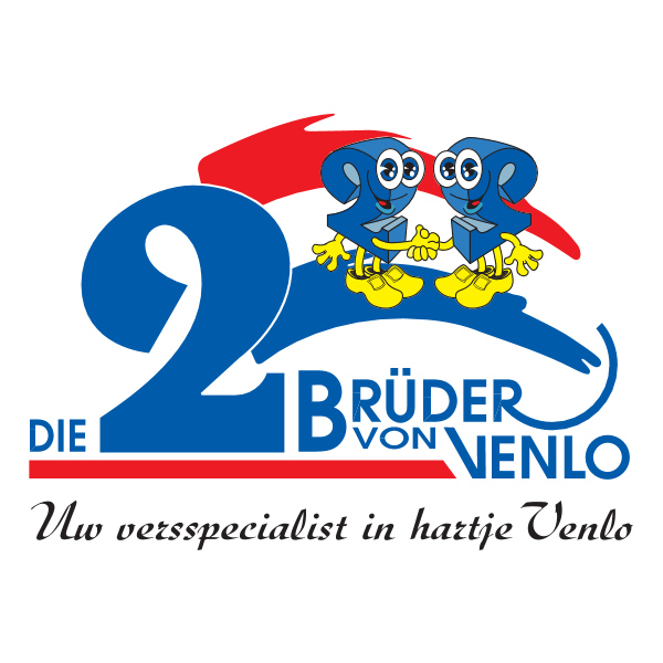 Die Zwei Bruder von Venlo Logo ,Logo , icon , SVG Die Zwei Bruder von Venlo Logo