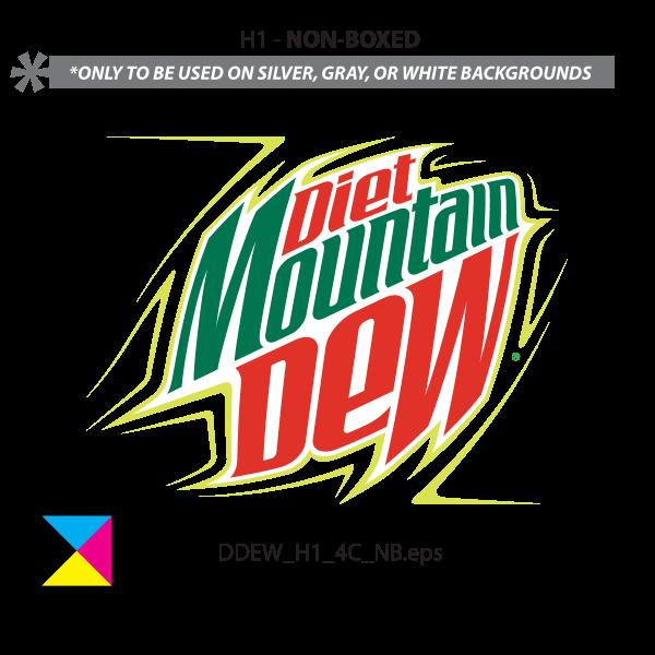 DIET MOUNTAIN DEW Logo ,Logo , icon , SVG DIET MOUNTAIN DEW Logo