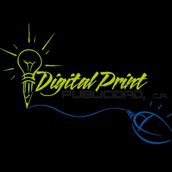 Digital Print Publicidad Logo ,Logo , icon , SVG Digital Print Publicidad Logo