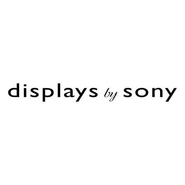 Display by Sony ,Logo , icon , SVG Display by Sony