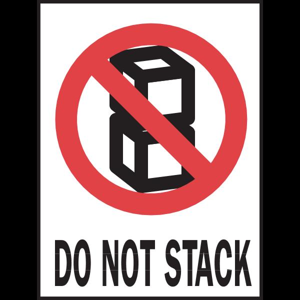DO NOT STACK SIGN Logo ,Logo , icon , SVG DO NOT STACK SIGN Logo