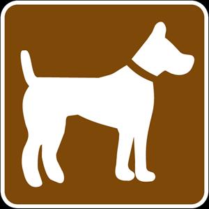 DOG AREA SIGN Logo ,Logo , icon , SVG DOG AREA SIGN Logo