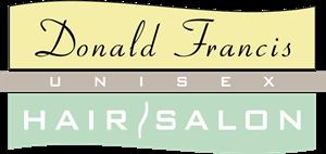Donald Francis Hair Salon Logo ,Logo , icon , SVG Donald Francis Hair Salon Logo