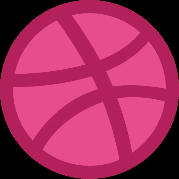 Dribbble icon ,Logo , icon , SVG Dribbble icon