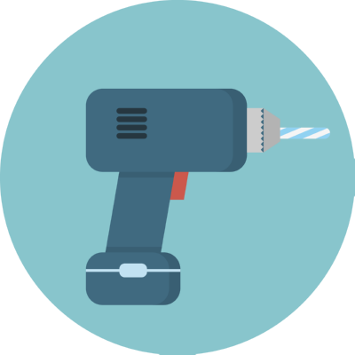 drill ,Logo , icon , SVG drill