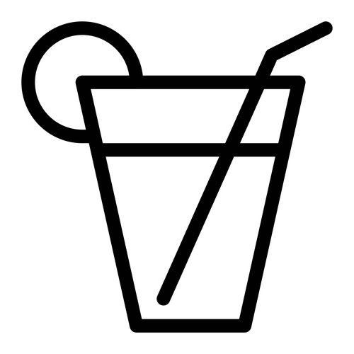 Drink juice ,Logo , icon , SVG Drink juice