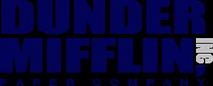Dunder Mifflin Logo ,Logo , icon , SVG Dunder Mifflin Logo