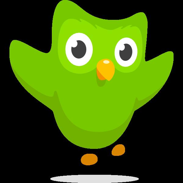 Duolingo symbol icon ,Logo , icon , SVG Duolingo symbol icon