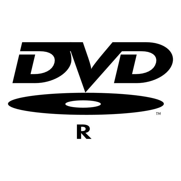 DVD R ,Logo , icon , SVG DVD R