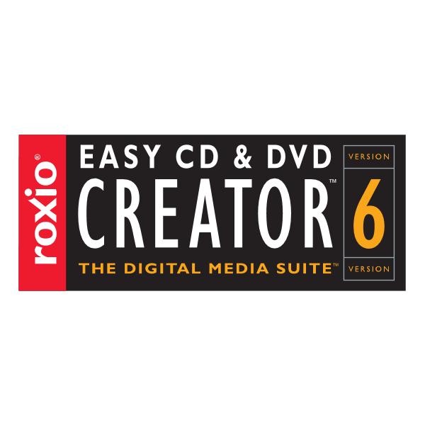 Easy CD DVD Creator 6 Logo ,Logo , icon , SVG Easy CD DVD Creator 6 Logo