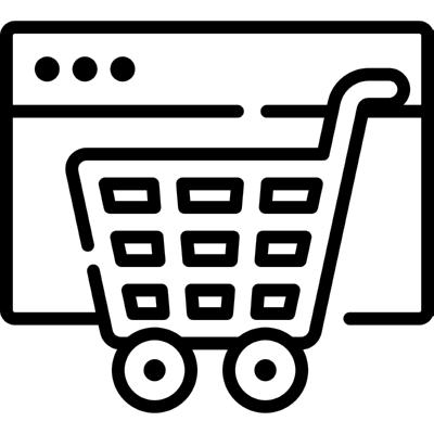 ecommerce ,Logo , icon , SVG ecommerce