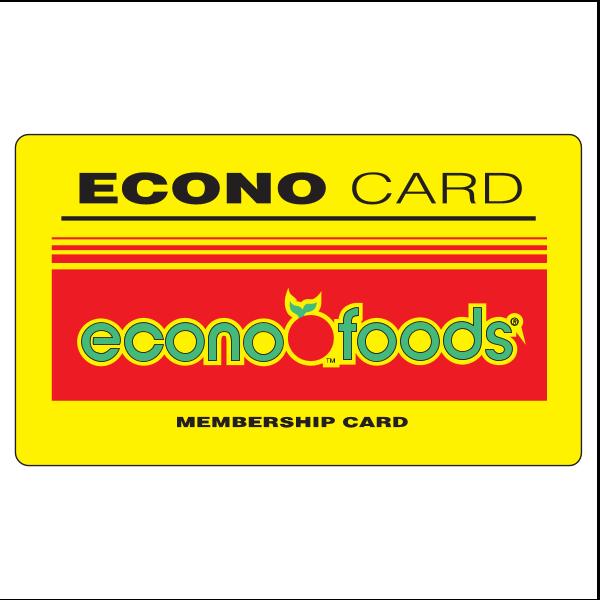 Econo Card Econo Foods Logo ,Logo , icon , SVG Econo Card Econo Foods Logo