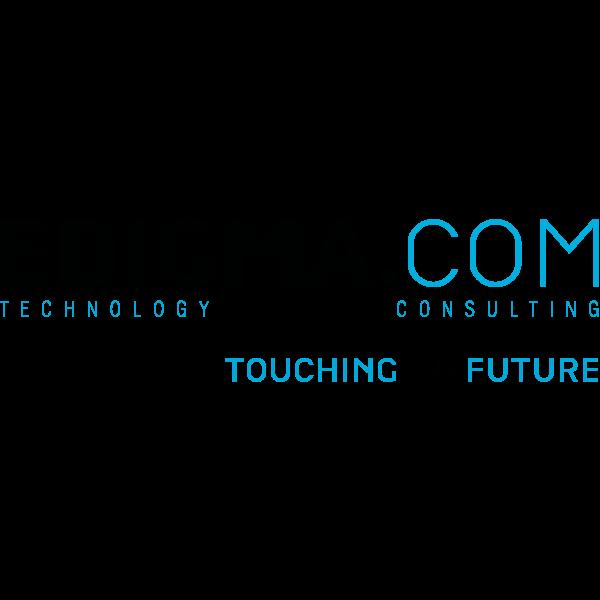 EDIGMA.COM – Touching the future Logo ,Logo , icon , SVG EDIGMA.COM – Touching the future Logo