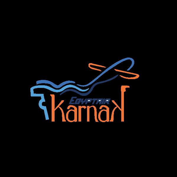 Egyptair Karnak Logo ,Logo , icon , SVG Egyptair Karnak Logo