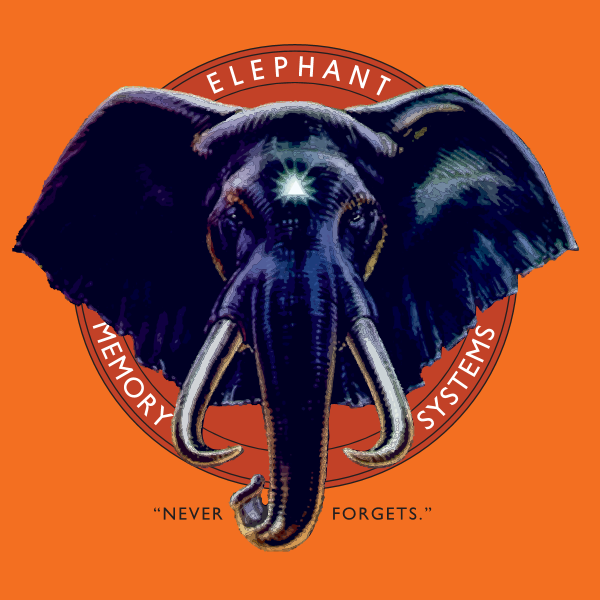 Elephant Memory Systems Logo ,Logo , icon , SVG Elephant Memory Systems Logo