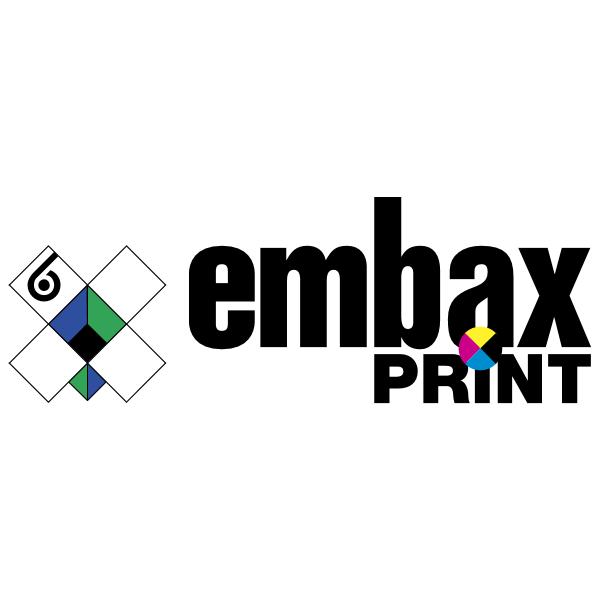 Embax Print ,Logo , icon , SVG Embax Print