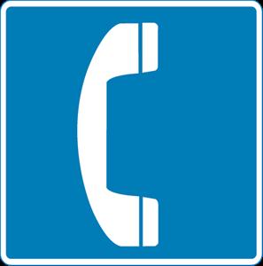EMERGENCY PHONE SYMBOL Logo ,Logo , icon , SVG EMERGENCY PHONE SYMBOL Logo