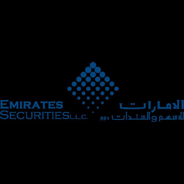 شعار الإمارات للاسهم والسنادات ذ م م ,Logo , icon , SVG شعار الإمارات للاسهم والسنادات ذ م م