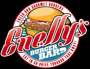 Enelly's Burger Bar Logo ,Logo , icon , SVG Enelly's Burger Bar Logo