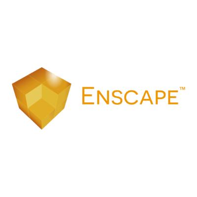enscape ,Logo , icon , SVG enscape