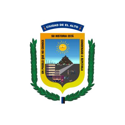 Escudo de la Ciudad de El Alto Masista ,Logo , icon , SVG Escudo de la Ciudad de El Alto Masista