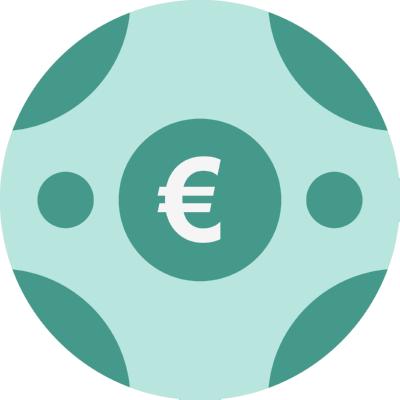 euro ,Logo , icon , SVG euro