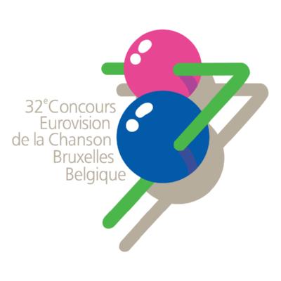 Eurovision Song Contest 1987 Logo ,Logo , icon , SVG Eurovision Song Contest 1987 Logo
