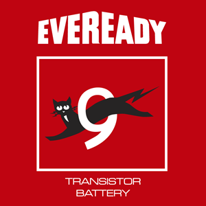 Eveready Antiguo fondo rojo Logo ,Logo , icon , SVG Eveready Antiguo fondo rojo Logo