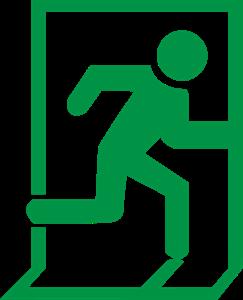 Exit Logo ,Logo , icon , SVG Exit Logo