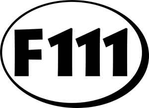 F111 Logo ,Logo , icon , SVG F111 Logo