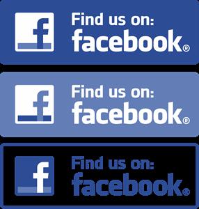 Facebook (Find us on) Logo ,Logo , icon , SVG Facebook (Find us on) Logo