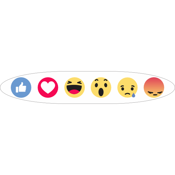 Facebook Like Reactions Logo ,Logo , icon , SVG Facebook Like Reactions Logo
