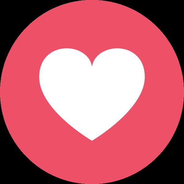Facebook Love ,Logo , icon , SVG Facebook Love