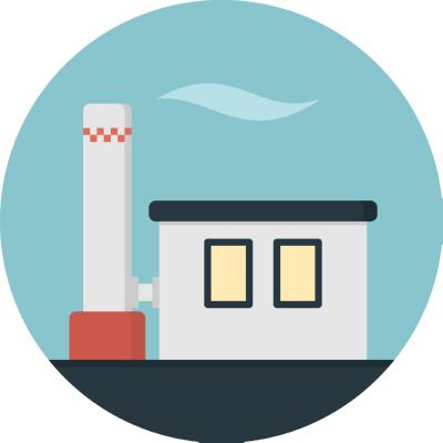 factory ,Logo , icon , SVG factory