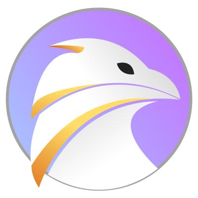 falkon ,Logo , icon , SVG falkon
