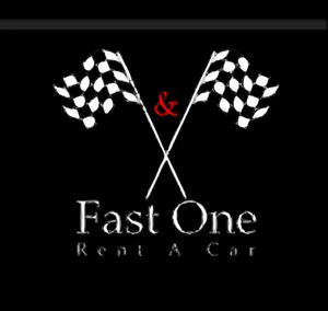 Fast One Rent A Car Logo ,Logo , icon , SVG Fast One Rent A Car Logo