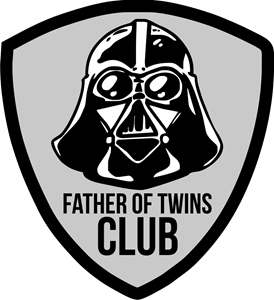 Father of twins CLUB Logo ,Logo , icon , SVG Father of twins CLUB Logo