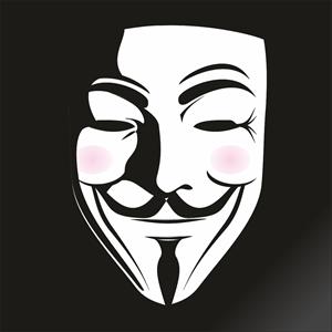 FAWKE`S MASK V Logo ,Logo , icon , SVG FAWKE`S MASK V Logo