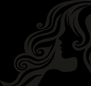 Female Hair Logo ,Logo , icon , SVG Female Hair Logo