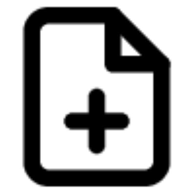 file plus ,Logo , icon , SVG file plus