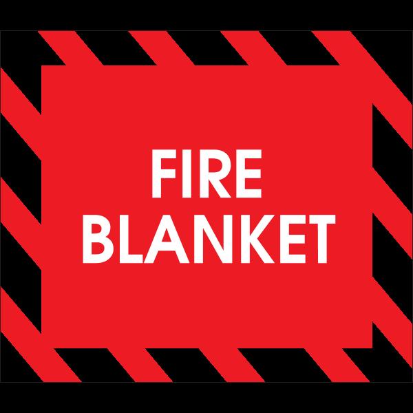 FIRE BLANKET SIGN Logo ,Logo , icon , SVG FIRE BLANKET SIGN Logo