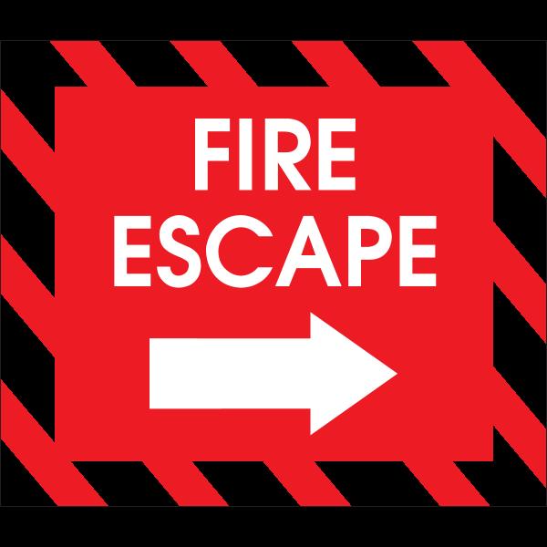 FIRE ESCAPE Logo ,Logo , icon , SVG FIRE ESCAPE Logo